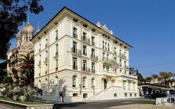 Elegante hotel 4* con spa nella Riviera dei Fiori