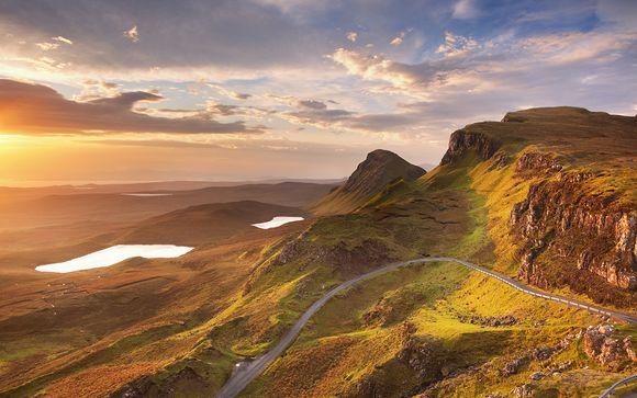 Autotur tra Edimburgo, Highlands e Isola di Skye