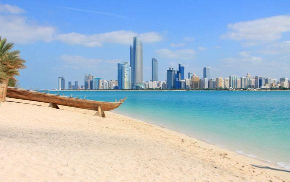 Dalla frenetica Dubai alle spiagge di Yas Island