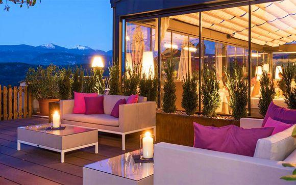Romanticismo, spa e cena gourmet vicino al Lago di Caldaro
