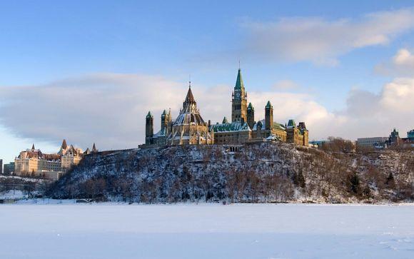 Tour in treno alla scoperta del Canada