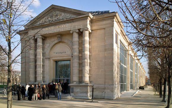 Accesso al Museo dell'Orangerie