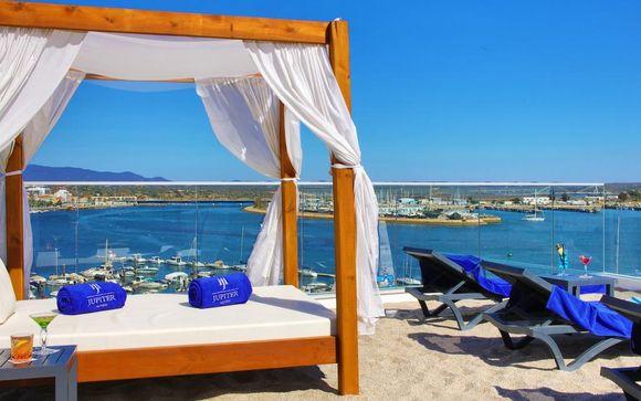 Romantico 4* con spa e vista sul fiume Arade