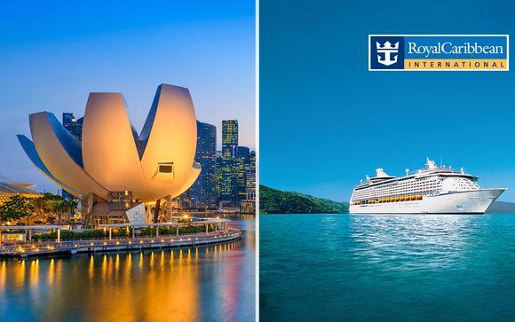 Soggiorno a Singapore in 4*e Minicrociera Sud-est Asiatico a bordo di Voyager of the Seas