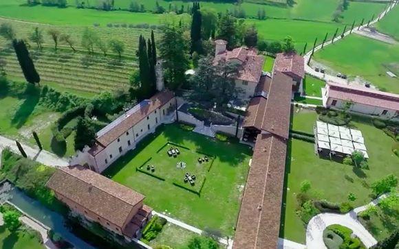 Relax a 4* nella tenuta più antica del Lago di Garda