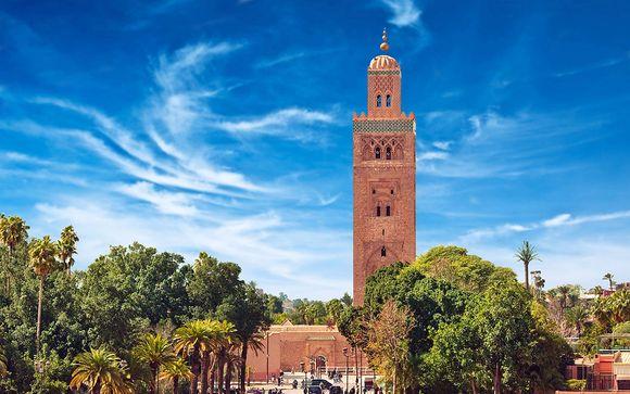 Mövenpick Hotel Mansour Eddahbi Marrakech 5* + Sofitel Essaouira Mogador Golf & Spa