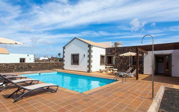 Soggiorno in splendida villa con piscina privata