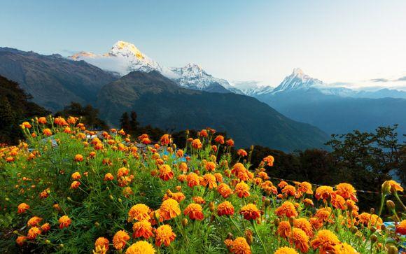 Itinerario del trekking sull'Himalaya