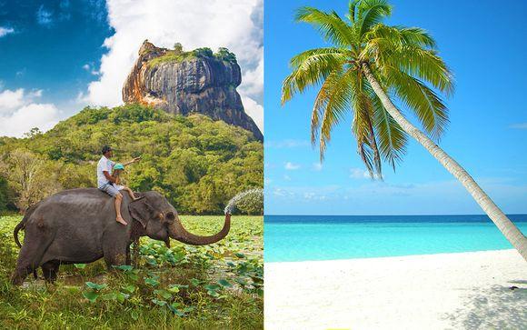 Mini tour Sri Lanka e soggiorno mare alle Maldive
