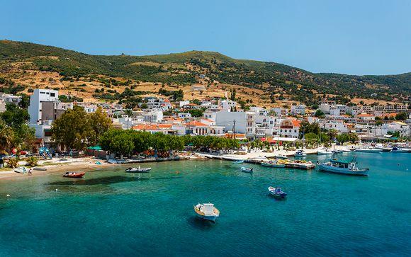 Soggiorno di relax in hotel sulla spiaggia dell'isola di Evia