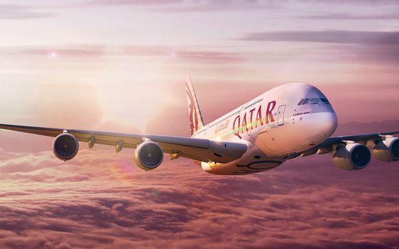 Lusso a 5* in volo con Qatar Airways