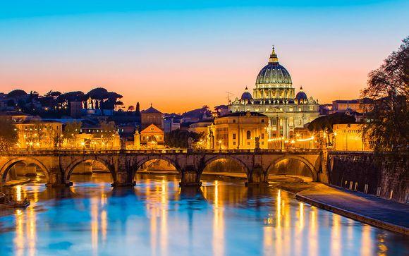 I cieli di Roma in camera Superior
