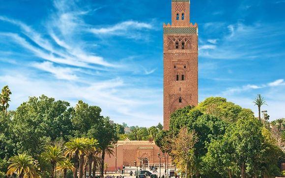 Estensione opzionale Marrakech di 2 notti