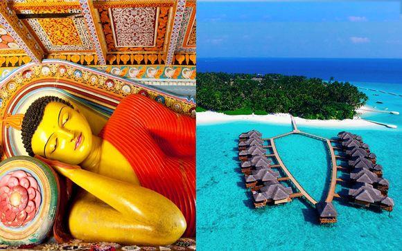 Magico Sri Lanka e relax in 4* All Inclusive alle Maldive