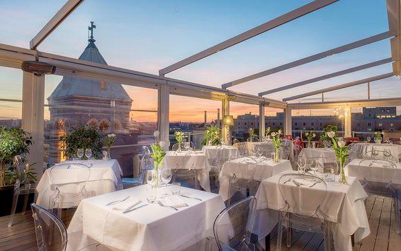 Vacanze Romane in hotel di design con ristorante panoramico