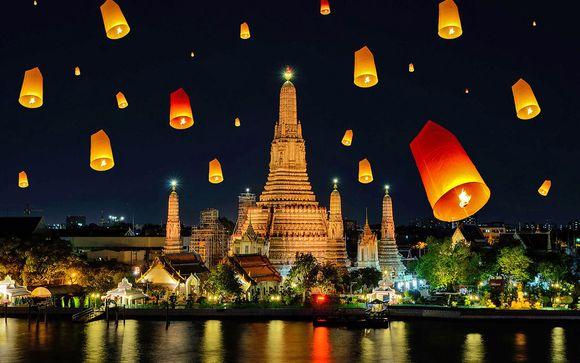 Vacanza 4* tra città e mare da sogno a Bangkok e Krabi