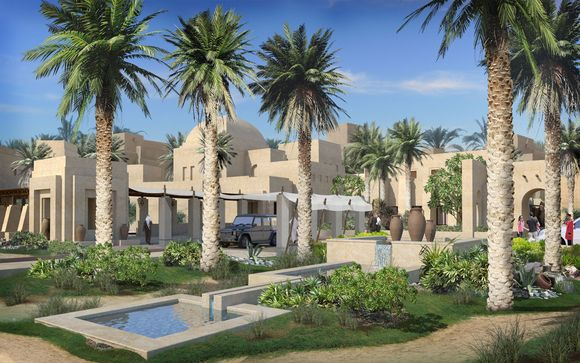 Deserto di Abu Dhabi - Jumeirah Al Wathba Desert Resort & Spa