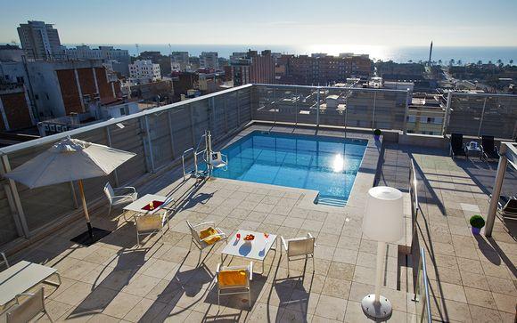 Moderno 4* con incredibile terrazza panoramica