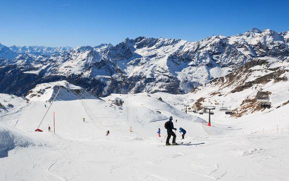 Il comprensorio sciistico Cervino Ski Paradise