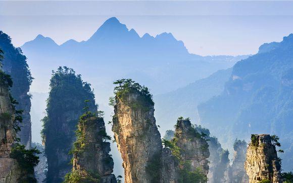 Percorsi unici tra le montagne del famoso film Avatar