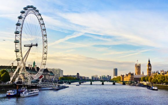 Royal Garden Hotel 5* con biglietto per il London Eye e walking tour