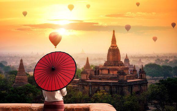 Tour 8 notti Myanmar