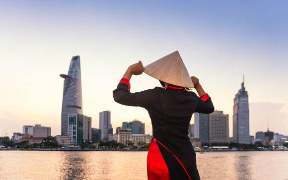 Tour tra il delta del Mekong, spiagge e possibile estensione nel nord