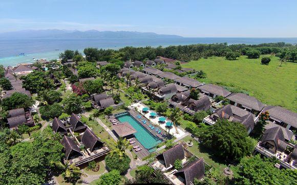 Gili Trawangan - Vila Ombak Hotel 4*