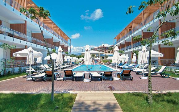Hotel Kastalia Alanya 4* - Soggiorno Mare