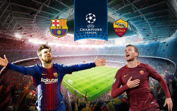 Champions League 2018- FC Barcelona vs AS Roma