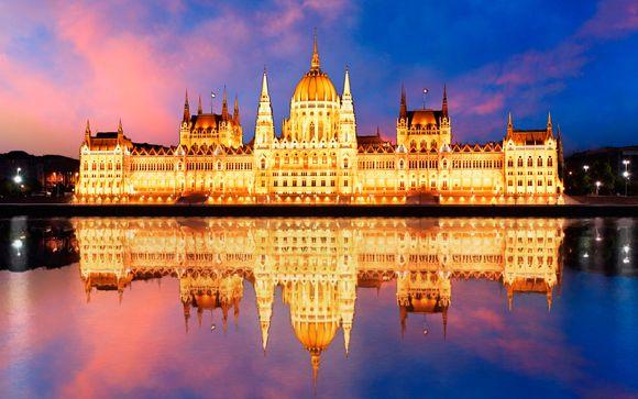 Budapest, atmosfere romantiche in eleganti Suite Deluxe a 4*