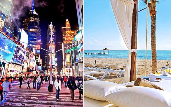 Hotel Riu Plaza New York Times Square 4* & Azul Beach Resort The Fives Playa del Carmen 5*