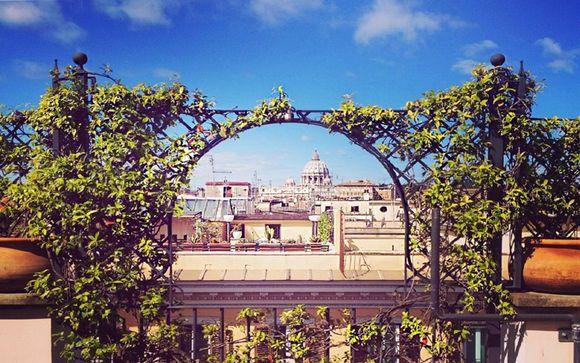 Boutique hotel 4* con vista su Città del Vaticano