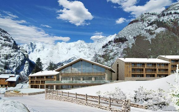 Luxury hotel a 5* con spa a Courmayeur