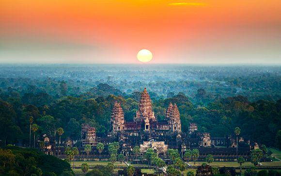 Reisbeschrijving van de verlenging naar Cambodja