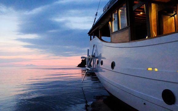 Uw reisprogramma voor de cruise naar Raja Ampat