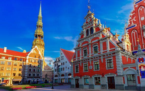 Welkom in... Riga en Stockholm