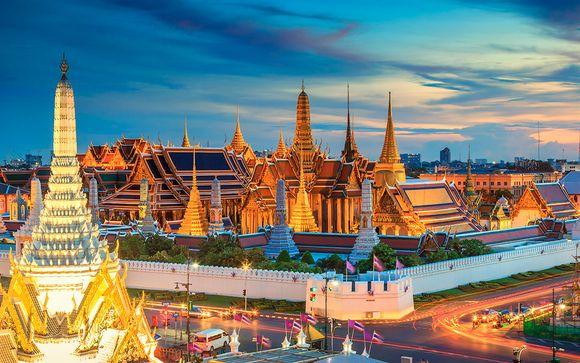 Uw optionele stopover in Bangkok