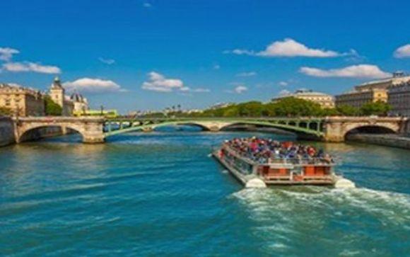 Uw inbegrepen cruise op de Seine