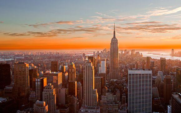 Uw optionele stopover in New York