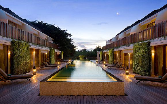 Uw verblijf in het hotel Kupu Kupu Jimbaran 5*