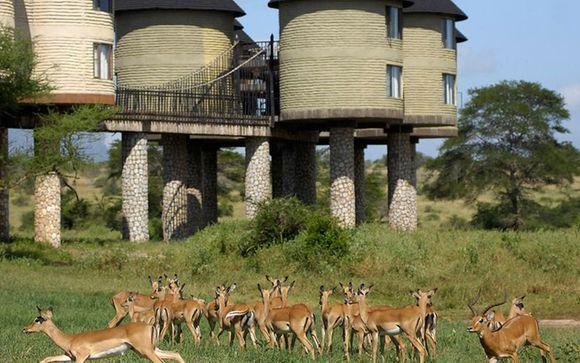 Uw accommodatie tijdens de safari