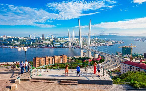 Uw reisprogramma van Moskou naar Vladivostok (16 nachten/17 dagen)