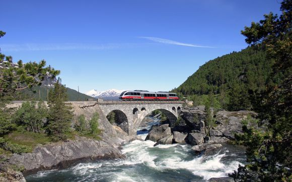 Norway's Capital to Coast by Train