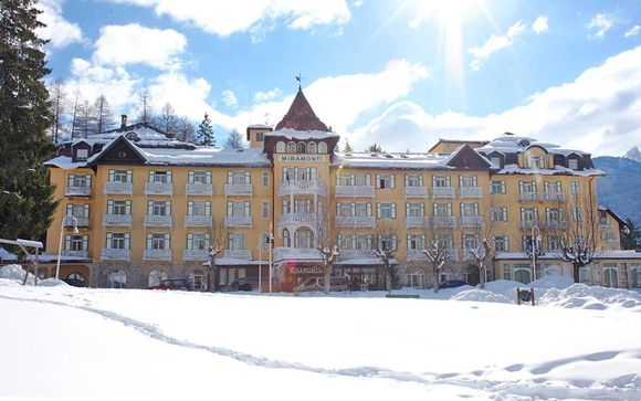 Charming 5* Hotel with Panoramic Views in Cortina d'Ampezzo