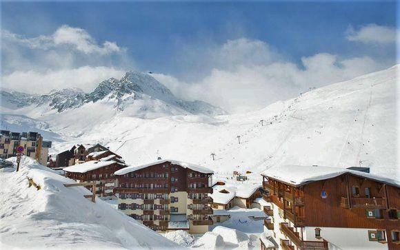 Exhilarating French Alps Stay near Tignes Ski Resort