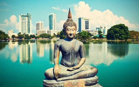 Sri Lanka Mini Tour & Calm Resort Beach Stay