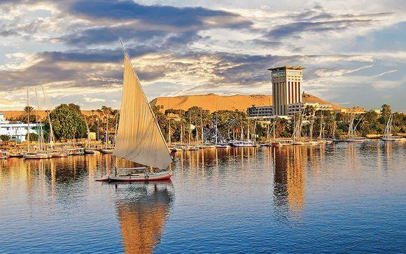 Cairo Sheraton 5* & Nile Goddess Cruise & Hilton Hurghada 5*