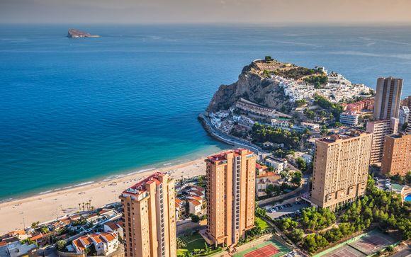 Modern Design Overlooking Levante Beach