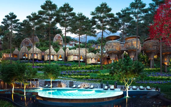 Luxurious Rainforest Boutique with Optional Bangkok Stopover
